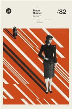 Cool Art: A Clockwork Orange, Blade Runner and The Shining Blade Runner Poster, Blade Runner Art, Blade Runner 2049, Original Movie Posters, Movie Poster Art, Poster Series, Posters Amazon, Gfx Design, Denis Villeneuve