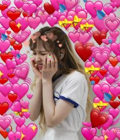 When someone actually responds to my massage Blackpink Memes, New Memes, Love Memes, Little Mix, Heart Meme, Wendy Red Velvet, This Is Love, Wholesome Memes, Meme Faces