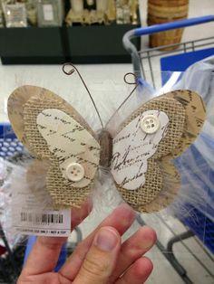 más y más manualidades: 10 ideas para hacer mariposas con distintos materiales