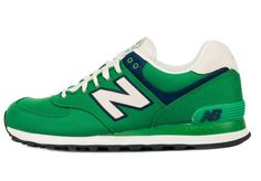 5a69f666e55c Soldes New Balance 574 temps limite New Balance NB 574 ML574RUG Chaussures  Homme Vert Blanche