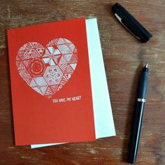 'You Have My Heart' Valentines Card