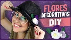 Flores decorativas =DiY