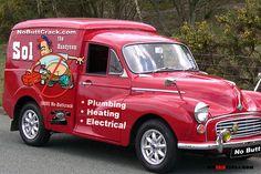 ICM Creative Communications - Creative insight: the Morris Minor Vintage Vans, Vintage Bikes, Vintage Trucks, Old Trucks, Classic Trucks, Classic Cars, Mini Morris, Morris Minor, Cool Vans