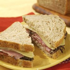 Sandwich Rye Bread - this easy-to-slice rye bread (no crumbling!) is perfect for sandwiches of all kinds.