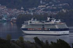 GTS Celebrity Constellation is a Millennium class cruise ship of Celebrity Cruises. She is the co-flagship of the Celebrity fleet, along with Century-class ship Century. She was originally named Constellation, but renamed in May 2007. Her three sister ships are the Celebrity Infinity, Summit, and Millennium. Here - arriving Bergen harbour six o'clock in the morning..,.