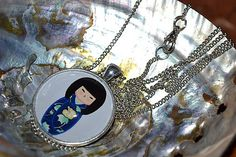 ivamurinova / Náhrdelník Geiša 2 Chain, Jewelry, Jewlery, Jewerly, Necklaces, Schmuck, Jewels, Jewelery, Fine Jewelry