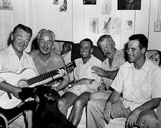 James Cagney, William Powell,Henry Fonda, Ward Bond and Jack Lemmon, 1955