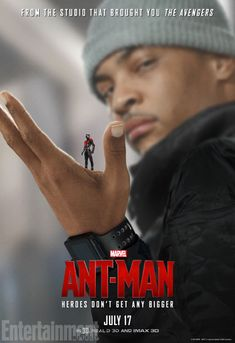 'Ant-Man': 7 EW Exclusive New Character Posters | Tip 'TI' Harris as Dave, another member of Scott's crew | EW.com