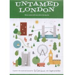 Untamed London map and mini guide by Herb Lester. Very cute and retro.