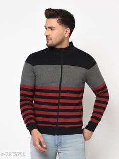 Sweatshirts Sweatshirt Fabric: Cotton Blend Sleeve Length: Long Sleeves Pattern: Striped Multipack: 1 Sizes: S (Chest Size: 39 in Length Size: 26 in Waist Size: 38 in)  XL (Chest Size: 45 in Length Size: 29 in Waist Size: 44 in)  L (Chest Size: 43 in Length Size: 28 in Waist Size: 42 in)  M (Chest Size: 41 in Length Size: 27 in Waist Size: 40 in)  XXL (Chest Size: 47 in Length Size: 30 in Waist Size: 46 in)  XXXL (Chest Size: 49 in Length Size: 31 in Waist Size: 48 in)  Country of Origin: India Sizes Available: S, M, L, XL, XXL, XXXL   Catalog Rating: ★4.3 (456)  Catalog Name: Trendy Retro Men Sweatshirts CatalogID_1160617 C70-SC1207 Code: 884-7259768-9462
