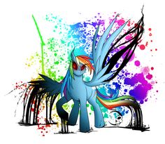 MLP- Rainbow Factory, Rainbow Dash