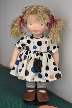 Doll Costume, Costumes, Waldorf Dolls, Fabric Dolls, Art Dolls, Doll Clothes, Harajuku, Flower Girl Dresses, North Coast