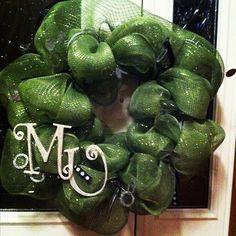 Marshall University wreath