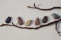 Quiero más diseño: Hermoso arte con piedras de río                                                                                                                                                      Más