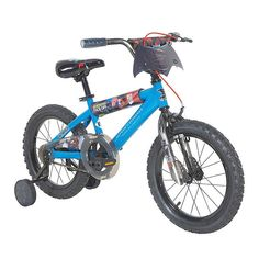 3950947c8ae Boys Batman vs Superman 16-Inch Wheel Bike with Training Wheels, Blue  Batman Bike