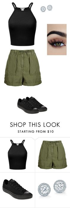 """Untitled #20"" by ermiraadili on Polyvore featuring Topshop and Converse"