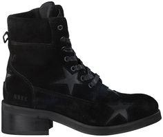 Zwarte Nubikk Korte laarzen DALIDA STARS