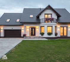 Flat House Design, Bungalow House Design, House Front Design, Dream Home Design, Modern House Design, House Layout Plans, Modern House Plans, House Layouts, House Plans Mansion