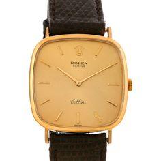 Rolex Cellini Vintage 18k Yellow Gold Watch