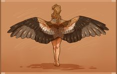 red kite by Tiercels on DeviantArt Bird Pictures, Pictures To Draw, Drawing Pictures, Fantasy Creatures, Mythical Creatures, Human Wings, Wings Drawing, Bird People, Red Kite