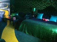 The Roxbury, Contemporary Catskill Lodging: Wizard of Oz room