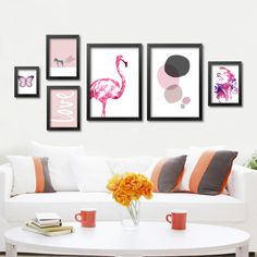 Delightful Modern Nordic Art Prints Posters Cute Carton Animals On Canvas Wall  Painting For Living Room Kids Room Decor No Frame DP0184 In Painting U0026  Calligrau2026