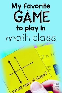 My Favorite Math Game – Engage students in math class with a fun game! This one is quick, engaging, and challenging! Get students talking about math! Fun Math Activities, Math Resources, Teaching 5th Grade, Teaching Tips, Math Groups, Common Core Math, Group Work, Student Engagement, Calculus
