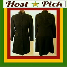 """""""A RARE BEAUTY"""" Breathtakingly beautiful vintage Zelda trenchcoat. Exquisite detailing on the collar, cuffs, shoulders and back of the jacket. 100% wool. No signs of wear. No stains. No tears. Says 8 but fits like a 4 or 6 Zelda Jackets & Coats Trench Coats"""