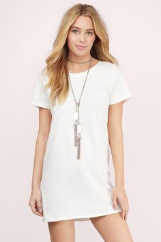 Make No Mistake Tunic Dress  at Tobi.com #shoptobi