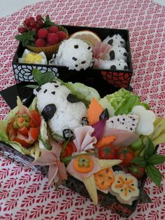 Results of the 2012 Bento contest, plus a few personal favorites | Just Bento | Cutest lunch EVER.