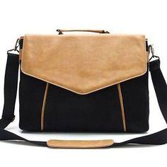 Mens Leather Briefcase Best Messenger Bag for Men Tote Bag Black CHANCHAN Brief