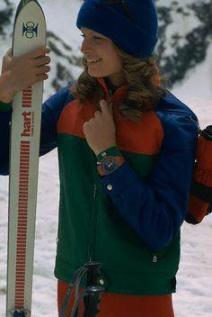 Snowbird, Utah Circa 1972. Vintage ski style.