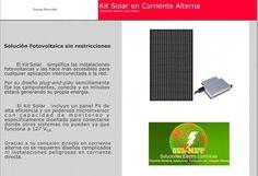 Kit solar en corriente alterna