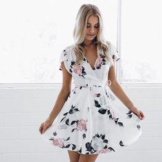 Floral perfection! Shop our Charisse dress $64.95 xx #esther #dress #love