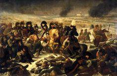 El ROMANTICISMO 1Antoine-Jean Gros Napoleón en el campo de batalla de Eylau (Napoléon sur le champ de bataille d'Eylau, le 9 février 1807) 1808 Óleo sobre lienzo 5,21 x 7,84 m. Romanticismo Musée du Louvre, París, France