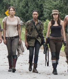 The Walking Dead Is My Muse - Rosita's Outfit – The Walking Dead - Rosita The Walking Dead, Walking Dead Girl, Walking Dead Season, The Walking Dead Halloween, Walking Dead Costumes, Lauren Cohen, Strong Female Characters, Women Characters, Zombie Girl