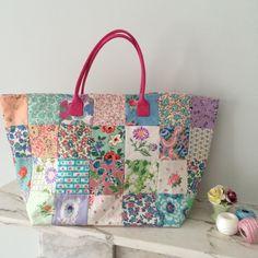 Fabulous Flea Market Bag Vintage Pastels by HenHouseHomemade, £75.00