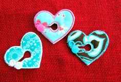 Heart Belly Dot Button Covers for GTube JTube by aHaDesigns2, $5.00