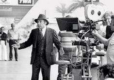 Mel Brooks directing High Anxiety