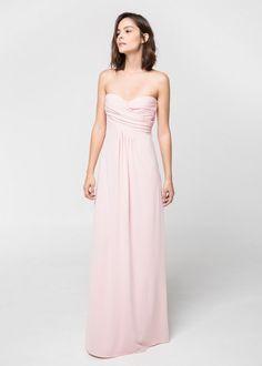 de49dacbb1 7 affordable pink long dresses to go to a wedding - LaiaMagazine
