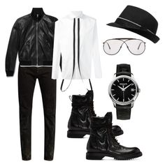 """""""Untitled #780"""" by devinbillingslea ❤ liked on Polyvore featuring Yves Saint Laurent, Tom Ford, Dsquared2, Rick Owens, Patek Philippe, men's fashion and menswear"""