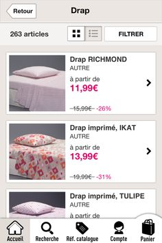 #laredoute #iphone #productlist