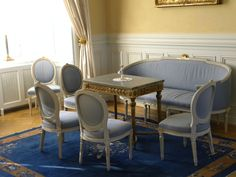 Gustavian sitting room