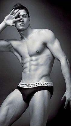 Cristiano Ronaldo Armani Ads: See The Soccer Star Strip Down (PHOTOS)