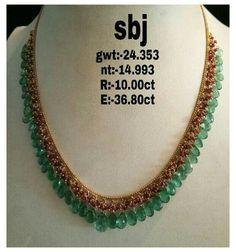 Gold Jewellery Design, Bead Jewellery, Beaded Jewelry, Saree Jewellery, Mom Jewelry, India Jewelry, Temple Jewellery, Antique Jewellery, Fashion Jewellery