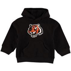 Toddler Cincinnati Bengals Black Team Logo Fleece Pullover Hoodie