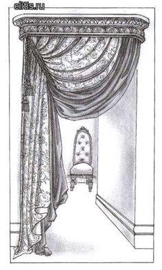 вариант оформления дверного проема