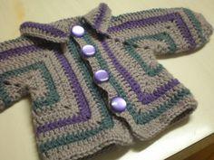 Hexagon Baby Sweater