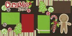 Christmas Treats Page Kit