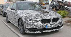 Next BMW 5-Series G30 Sedan Spied In M Sport Trim